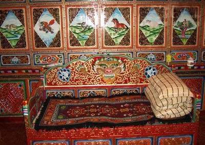 藏族室内装饰图片大全